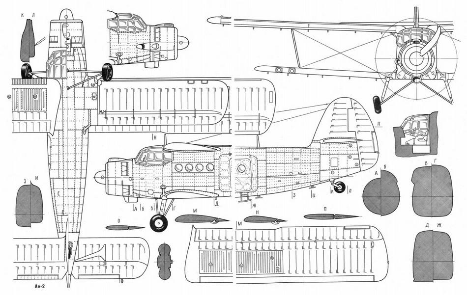 Ан-2 - Самолёты Страны